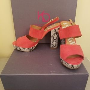 NIB Kelsi Dagger Bobbi Jo Sandals Size 8